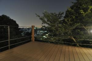 変換 ~ デッキからの夜景